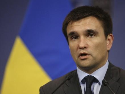 Клімкін розповів уРаді Європи про санкції проти російських сайтів