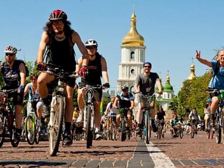 20 травня уКиєві обмежать рух замаршрутом велопараду
