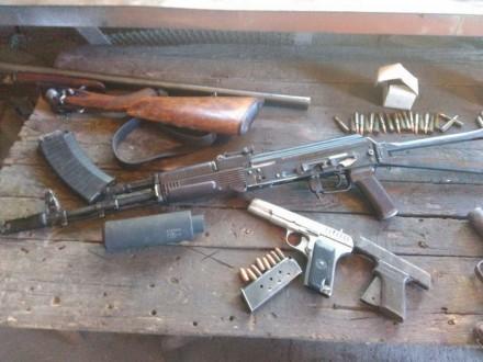 Канал поставки оружия из района АТО перекрыли в Днепре
