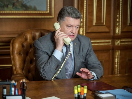 Порошенко запросив Макрона в Україну