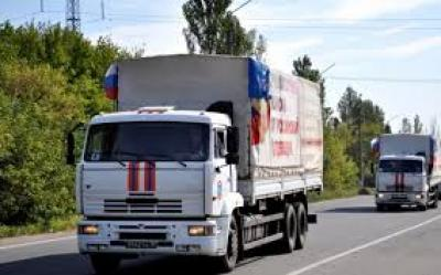 РФ відправила наокупований Донбас 65-й «гумконвой»