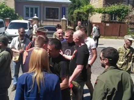 Мукачівський суд відпустив напоруки бійців Правого сектору