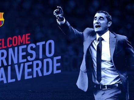 Офіційно: Вальверде— новий тренер «Барселони»