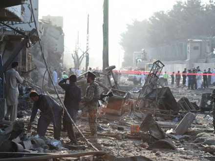 Столтенберг осудил масштабный теракт вКабуле