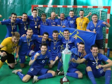Херсонський «Продексім» уперше завоював золоті медалі чемпіонату України зфутзалу