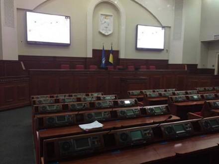 Сутички уКиївраді: Вполіції повідомили про двох постраждалих