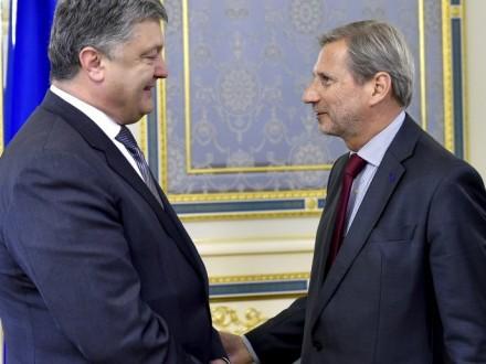 П.Порошенко і Й.Ган обговорили підготовку до саміту Україна-ЄС