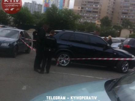 УКиєві наХарківському шосе сталася перестрілка