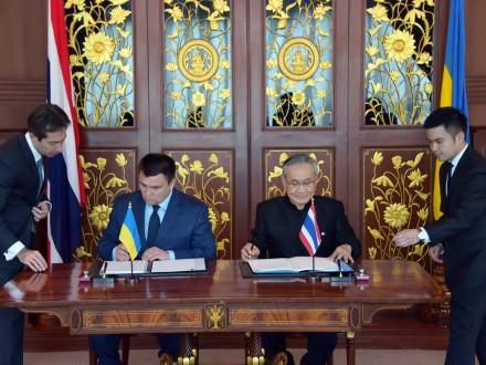 Клімкін: Україна і Таїланд домовилися про правову взаємодопомогу врозслідуванні кримінальних справ