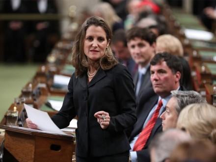 Фріланд: РФстановить стратегічну загрозу для Канади