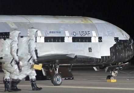 SpaceX запустить секретний безпілотник ВПС США