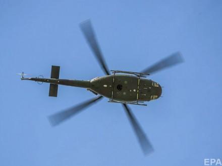 Під час навчань вЧорне море впав військовий вертоліт Болгарії
