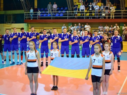 Волейболісти збірної України з перемоги розпочали виступ у Євролізі