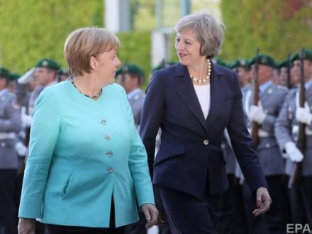 Євросоюз готовий почати переговори про Brexit— Меркель