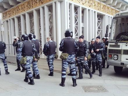 Кількість затриманих наакції вМоскві зросла до731 осіб