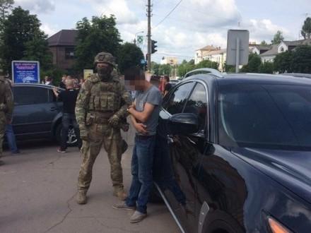 НаЖитомирщині СБУ затримала учасників бандугруповання, які планували підірвати стратегічний об'єкт