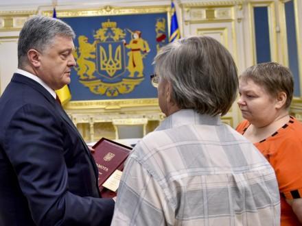 Президент присвоїв звання «Герой України» загиблому М.Жизневському— С.Цеголко