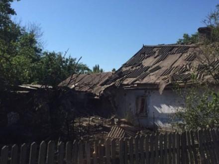 Доба взоні АТО: від обстрілів постраждали житлові будинки