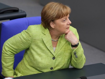 Меркель розкритикувала американські санкції проти Росії