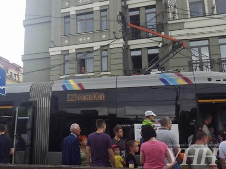 УКиєві наКонтрактовій площі відбудеться «Парад трамваїв»