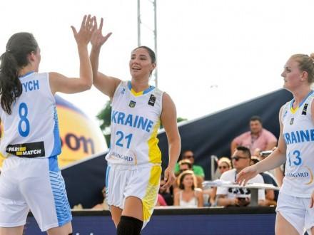 Баскетболістки збірної України пробилися до 1/4 фіналу ЧС 3х3