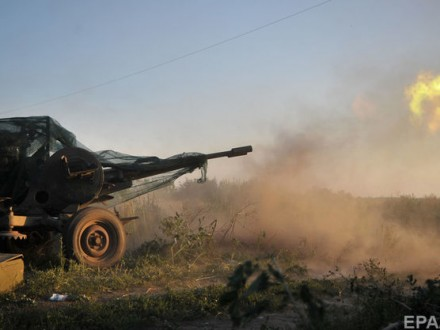 ВАТО позиции 93-й бригады обстреляли изгранатометов истрелкового оружия