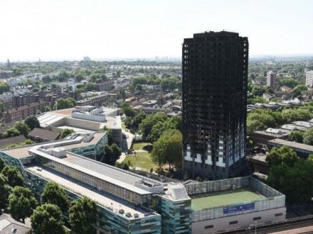 Поліція назвала причину пожежі вбагатоповерхівці Лондона