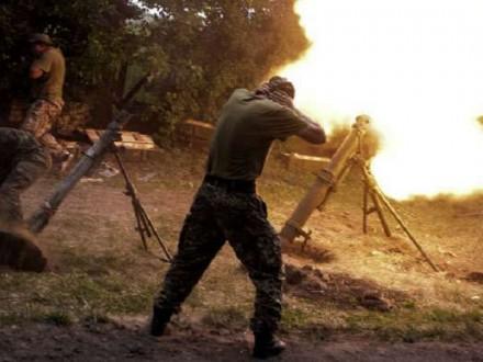 Штаб: Суттєво збільшивши калібр озброєння, бойовики 36 разів обстріляли позиції ЗСУ