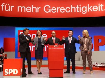Съезд СДПГ принял программу партии квыборам вбундестаг
