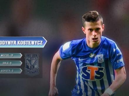 Костевич став одним із кращих гравців чемпіонату Польщі