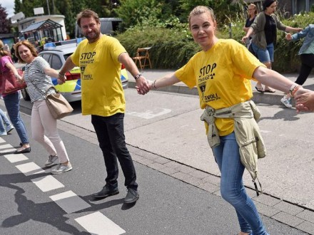 Тисячі людей вийшли надемонстрацію зазакриття бельгійських АЕС