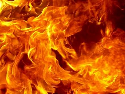 Вкафе живьем сгорел мужчина
