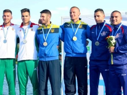 Українці виграли низку медалей на ЧЄ з веслування серед молоді