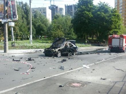 Мужчина, погибший при взрыве автомобиля в столице, был командиром-разведчиком
