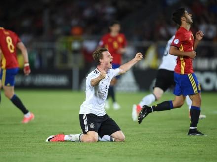 Молодёжная сборная Германии стала чемпионом Европы пофутболу