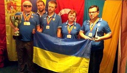 Українські паралімпійці посіли друге місце на Всесвітній шаховій олімпіаді