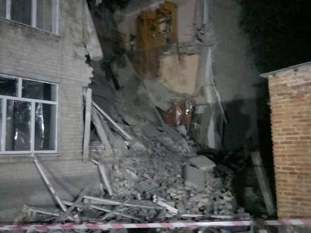 УМиколаївскій області обвалилася школа, є відео