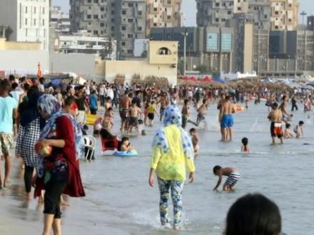 Устолиці Лівії ракета впала нагромадський пляж