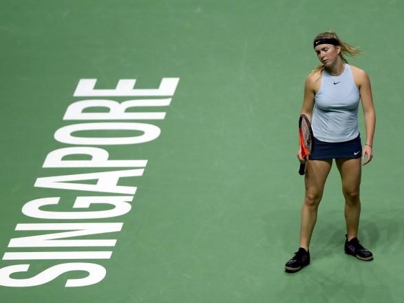 Світоліна узапеклому протистоянні вдруге програла на Підсумковому турнірі WTA