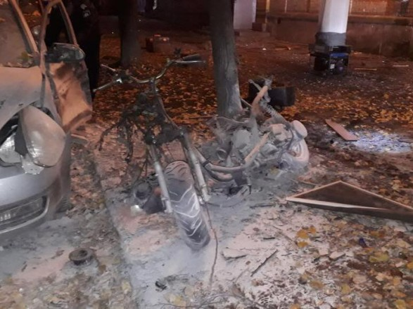 Невідомі підірвали мопед біля Мосійчука— УСБУ підтвердили