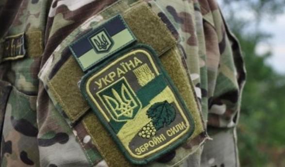 Взоне АТО засутки умер один украинский военный, еще 5 ранены