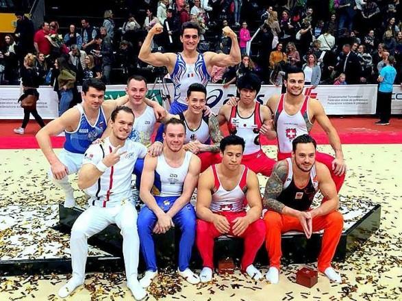 Верняєв тріумфував на гімнастичних змаганнях у Швейцарії