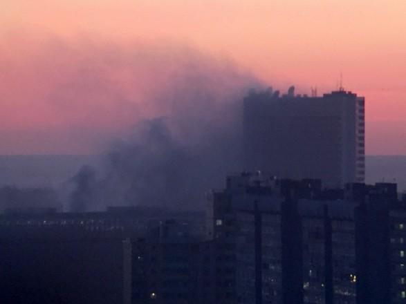 УМоскві горить об'єкт Служби зовнішньої розвідки Росії