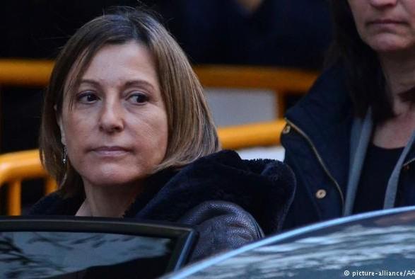 Спикера каталонского парламента выпустили под залог в150 тысяч евро