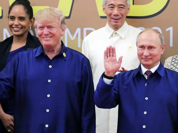 Путін зТрампом порушили українське питання