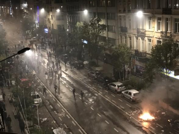 22 поліцейських постраждало через дії марокканських уболівальників вБрюсселі (ФOТO)