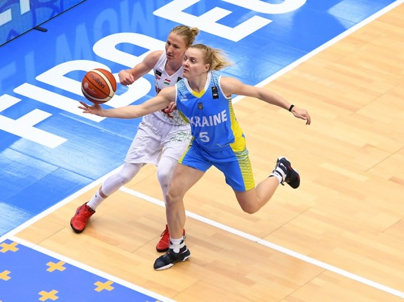 Баскетболістки України здобули перемогу на старті відбору до ЧЄ-2019