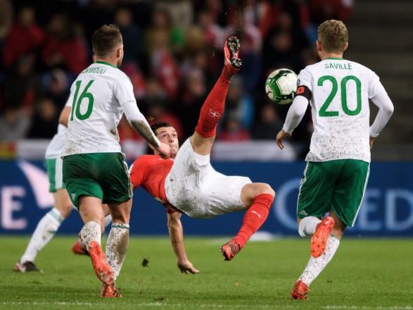 Швейцарія зіграла внічию з Північною Ірландією і вийшла наЧС