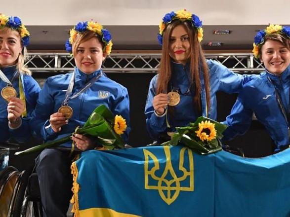 Українські паралімпійці увійшли утрійку лідерів начемпіонаті світу