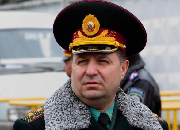 Степан Полторак: Мивиключаємо можливість участі Росії умиротворчій місії ООН